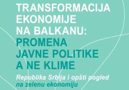 Istraživanje o zelenoj ekonomiji u Srbiji
