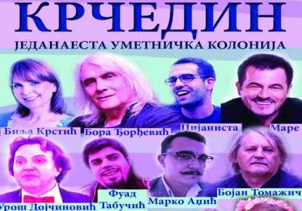 Umetnička kolonija u Krčedinu od 4. do 8. jula