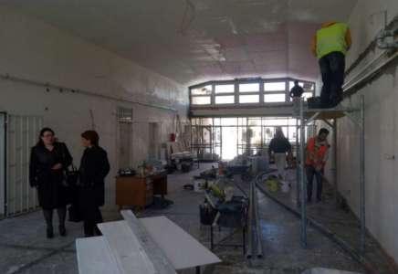 U toku radovi na rekonstrukciji ambulante u Dolovu