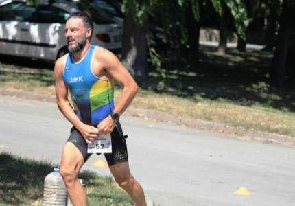 Triatlon: Davidovićeva i Lukić viceprvaci države