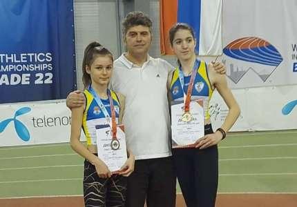 Atletika: Marija Mrkela osvojila zlatnu, Sanja Marić bronzanu medalju