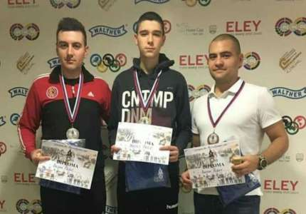 Streljaštvo: Dejan Pešić osvojio srebrnu medalju u finalu seniora puškom