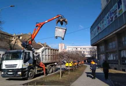 U centru grada postavljeni novi kontejneri