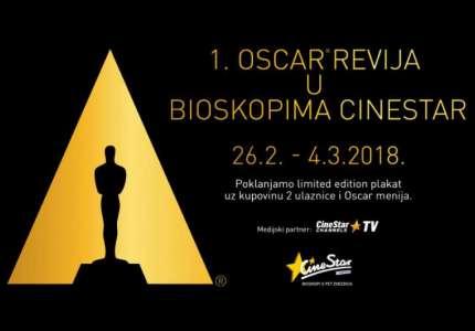 CineStar bioskopi predstavljaju prvu Oscar reviju u CineStaru