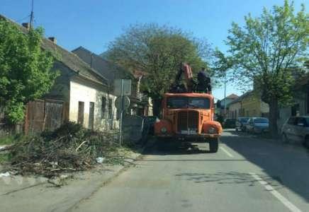 Raspored odnošenja kabastog smeća od 12. do 16. aprila