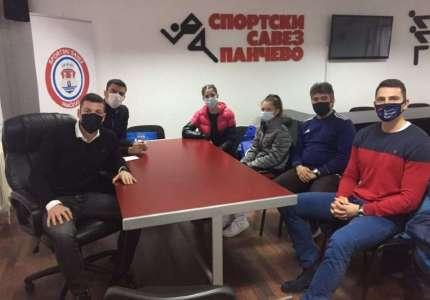 Emir Bekrić posetio Sportski savez Pančevo