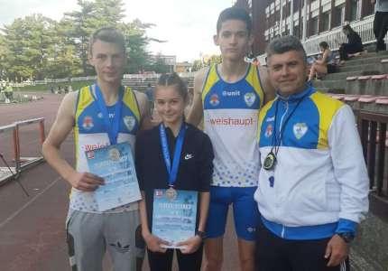 Dve srebrne medalje za mlađe juniore Dinama