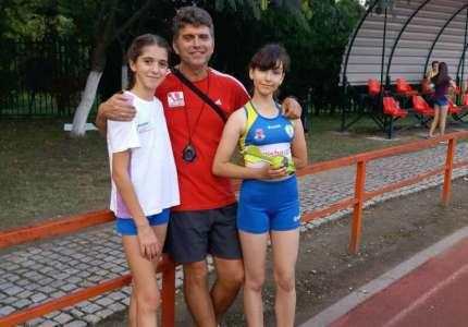 Dve medalje za atletičarke Dinama iz Pančeva