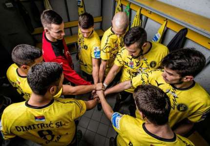 Rukometaši Dinama pobedili ekipu Obilića u prijateljskoj utakmici
