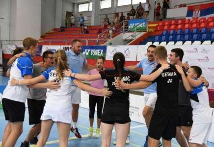 Srbija ekipni balkanski šampion u badmintonu