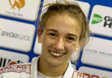 Andrea Stojadinov šampionka Evrope u džudou za mlađe seniore