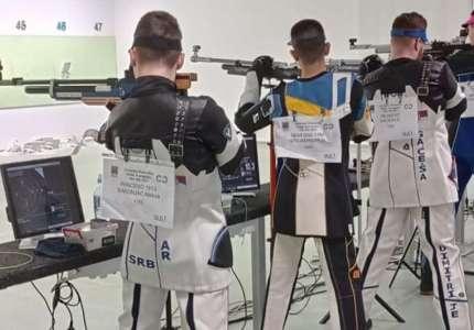 Pančevački strelci nastupili na Prvenstvu Srbije za juniore u Nišu