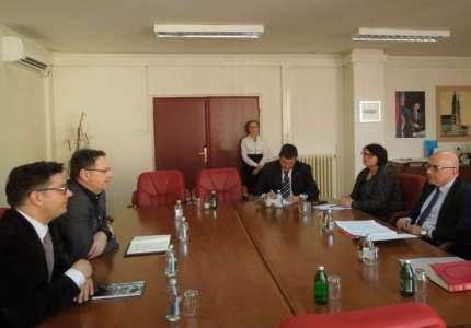 Ministar kulture i informisanja Vladan Vukosavljević u poseti Pančevu