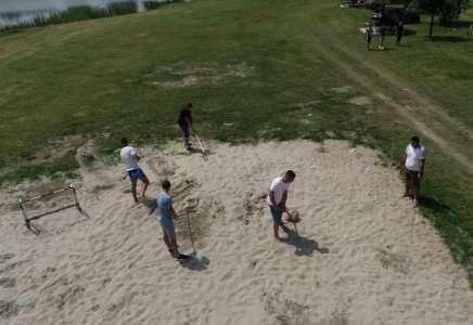 """Organizovana akcija uređenja plaže u parku prirode """"Ponjavica"""""""