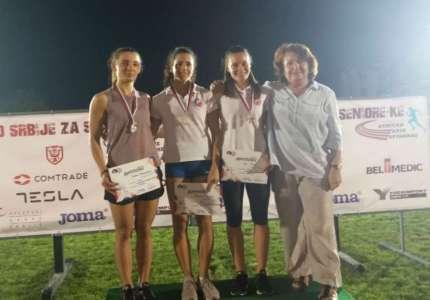 Zorana Barjaktarović dvostruka vicešampionka Srbije