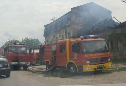 Požar u napuštenom mlinu u Margiti: izgoreo krov