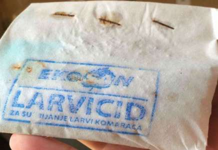 Raspodela larvicida danas u Margiti, od sutra u Banatskom Brestovcu