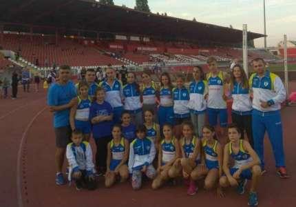 Četiri medalje za atletičare Dinama na takmičenju u Novom Sadu
