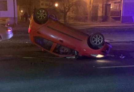 Saobraćajna nezgoda u Pančevu u Ulici Stevana Šupljikca