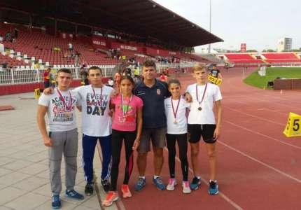 Pet medalja na Prvenstvu Vojvodine za pančevačke atletičare