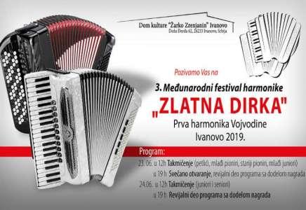 Ivanovo: izbor najboljih harmonikaša 23. i 24. juna i koncerti Ane Bekute i Ace Ilića