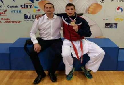 Karatista Slobodan Bitević odbranio titulu prvaka Balkana