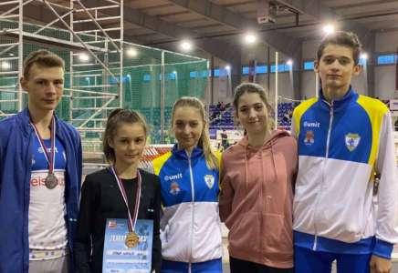 Atletičari Dinama osvojili četiri medalje na takmičenju u Beogradu