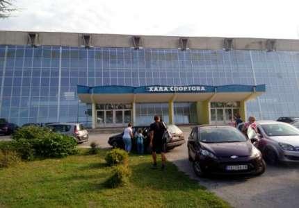 Radovi na sportskoj hali u Pančevu