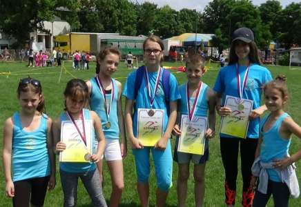 AK Panonija: pet medalja na Spartakovom krosu u Opovu