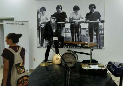 Izložba rok eksponata, plakata i fotografija u Pančevu