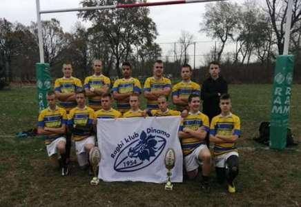 Juniori Ragbi kluba Dinamo osvojili Prvenstvo države