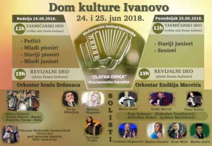 "Dragana Milošević otvoriće festival ""Zlatna dirka"" u Ivanovu (VIDEO)"