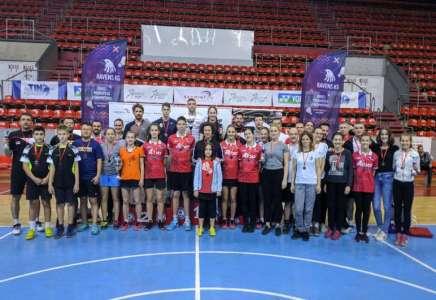 Badminton: Pančevci osvojili čak deset medalja na turniru u Kragujevcu