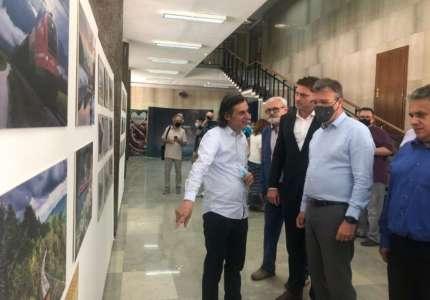 """U Gradskoj kući otvorena izložba u okviru manifestacije """"Dani Slovenije"""" u Pančevu"""