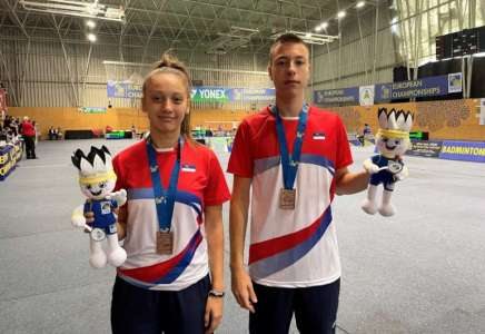 Bronza za Anđelu Vitman na Evropskom badminton prvenstvu do 17 godina