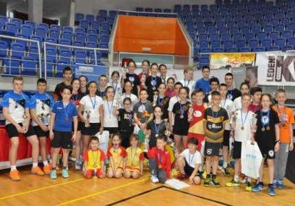 Na Juniorskom kupu Vršca u badminton dominirali Pančevci
