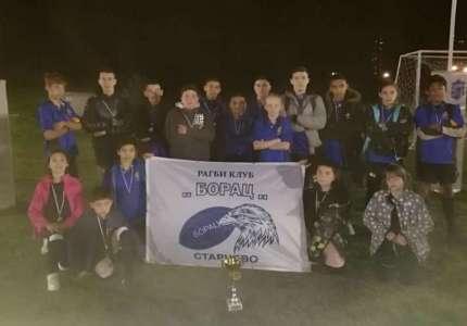 Starčevo: Pioniri ragbi kluba Borac osvojili Prvenstvo Beograda