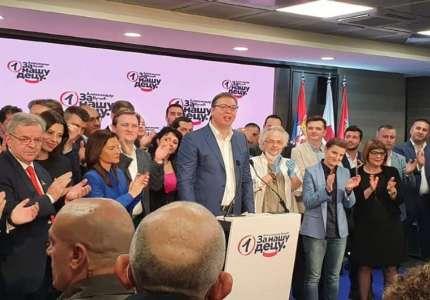 Vučić: Dobili smo ogromno poverenje građana, 2 miliona glasova