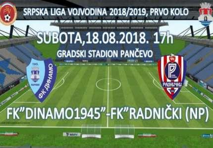 Na početku nove fudbalske sezone Dinamo dočekuje Radnički