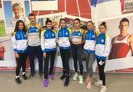 Uspešan nastup atletičara Dinama na Prvenstvu Srbije za starije juniore
