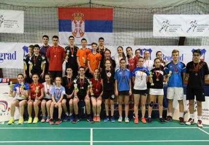 Badminton: Anđela Vitman proglašena najboljom igračicom do 15 godina na Prvenstvu Srbije za juniore