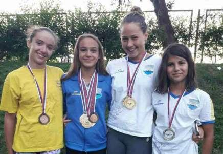 Na juniorskom prvenstvu Vojvodine u plivanju 11 medalja za Pančevce