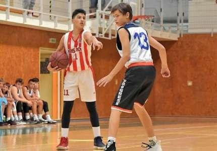KK Kris Kros: Avramović Grigorije na mini pripremama U15 reprezentacije