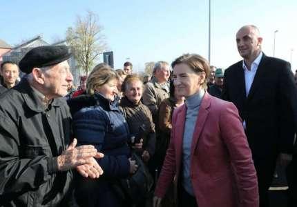 Puštena u saobraćaj obilaznica oko Bavaništa u prisustvu premijerke Ane Brnabić