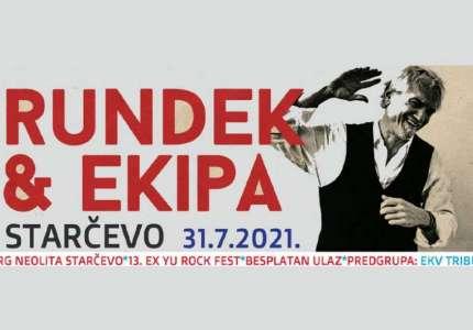 Darko Rundek & Ekipa na 13. Ex YU Rock Festu u Starčevu
