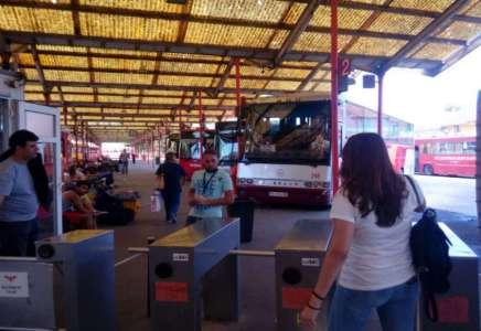 Cena peronske karte na autobuskoj stanici u Pančevu i dalje ista