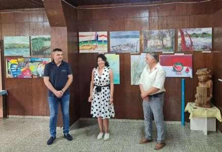 U Ivanovu otvorena izložba radova nastalih na trećoj likovnoj koloniji održanoj u tom mestu