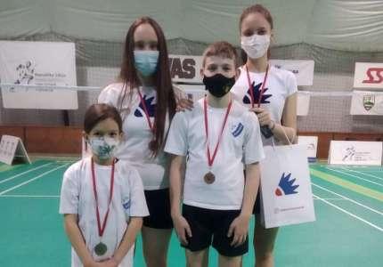 Badminton: četiri medalje za takmičare Dinama iz Pančeva