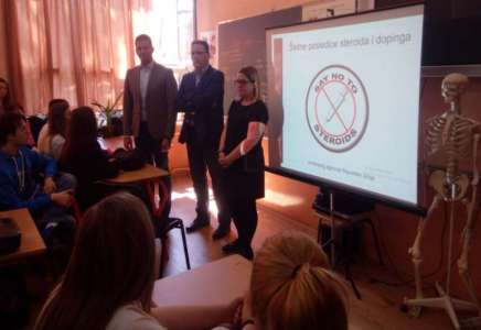 Udovičić u Pančevu o borbi protiv dopinga u sportu i izgradnji infrastrukture