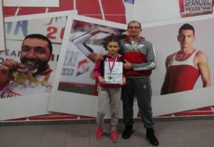 Sanja Marić pobednica otvorenog Prvenstva Beograda u atletici